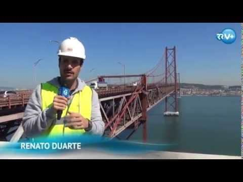 Reportagem RR na Ponte 25 de Abril