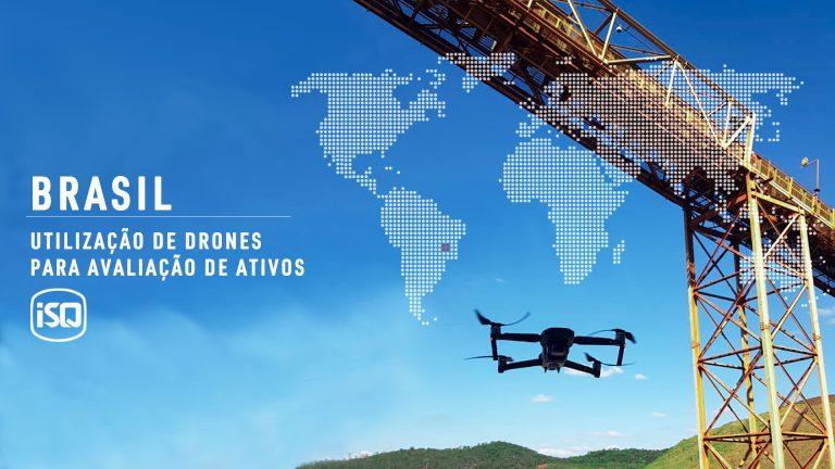 ISQ Brasil utiliza drones para inspeção de ativos