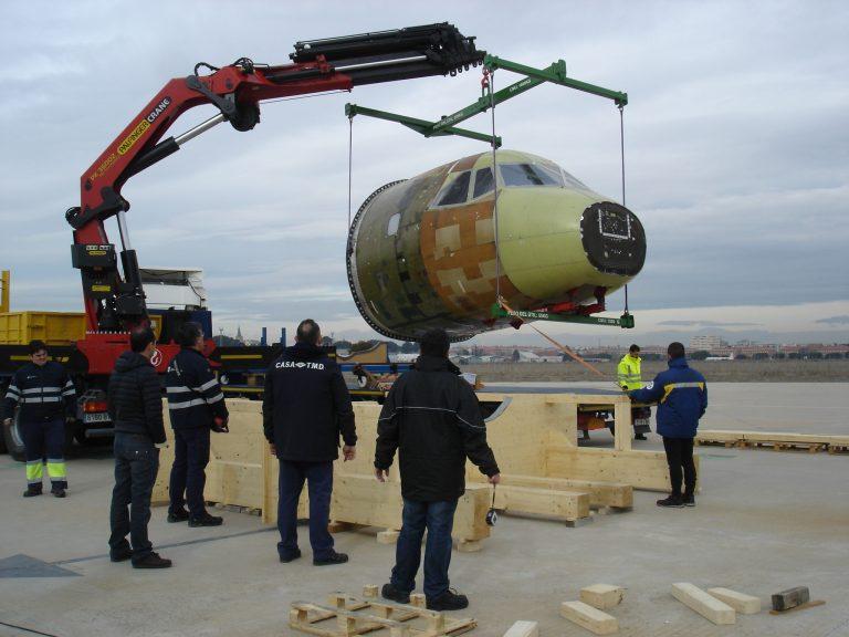 Ensaios de Compatibilidade Eletromagnética (EMC) do projeto PASSARO na Airbus Defence and Space (ADS) estão concluídos