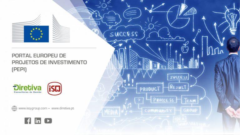 Já conhece o Portal Europeu de Projetos de Investimento (PEPI)?