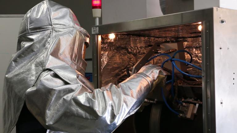 ISQ realiza inspeções industriais a altas temperaturas sem paragem de serviço