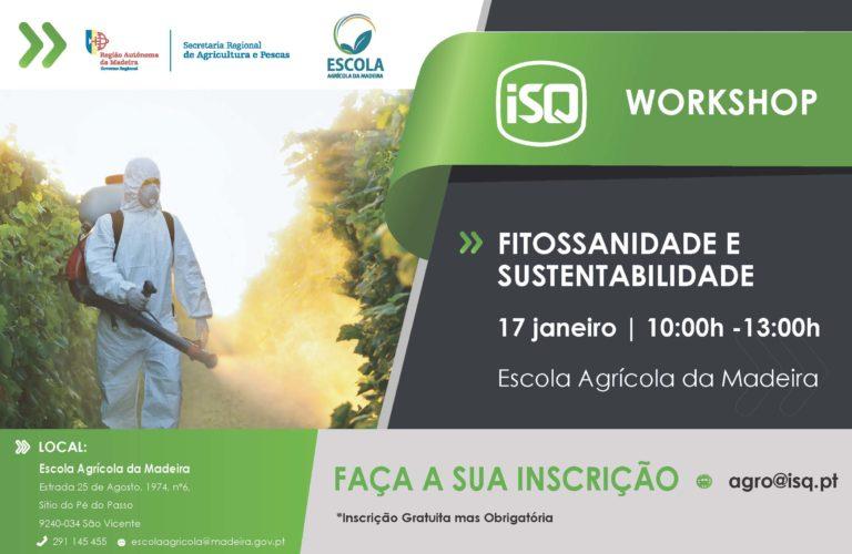 """Workshop """"Fitossanidade e Sustentabilidade"""" na Madeira"""