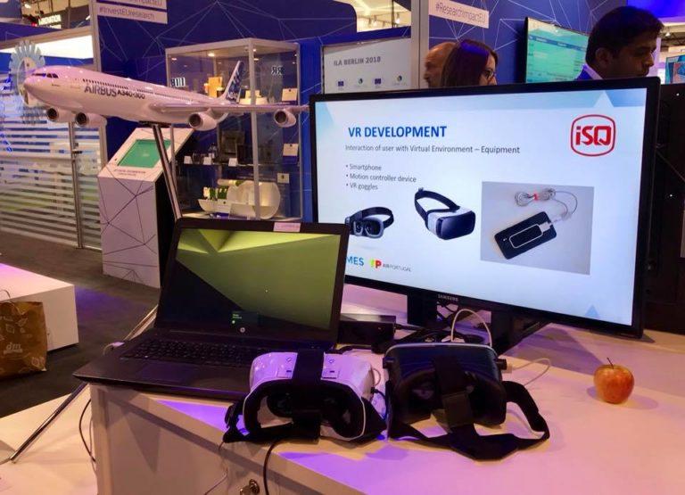 ISQ apresenta dispositivo inovador de realidade virtual
