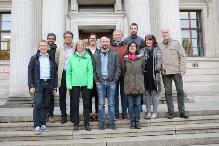 Reunião do projeto WaterWatt em Cardiff