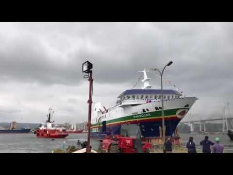 Lançamento ferry boat Timor-Leste