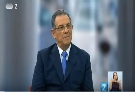 Manuel Cruz em entrevista na RTP2