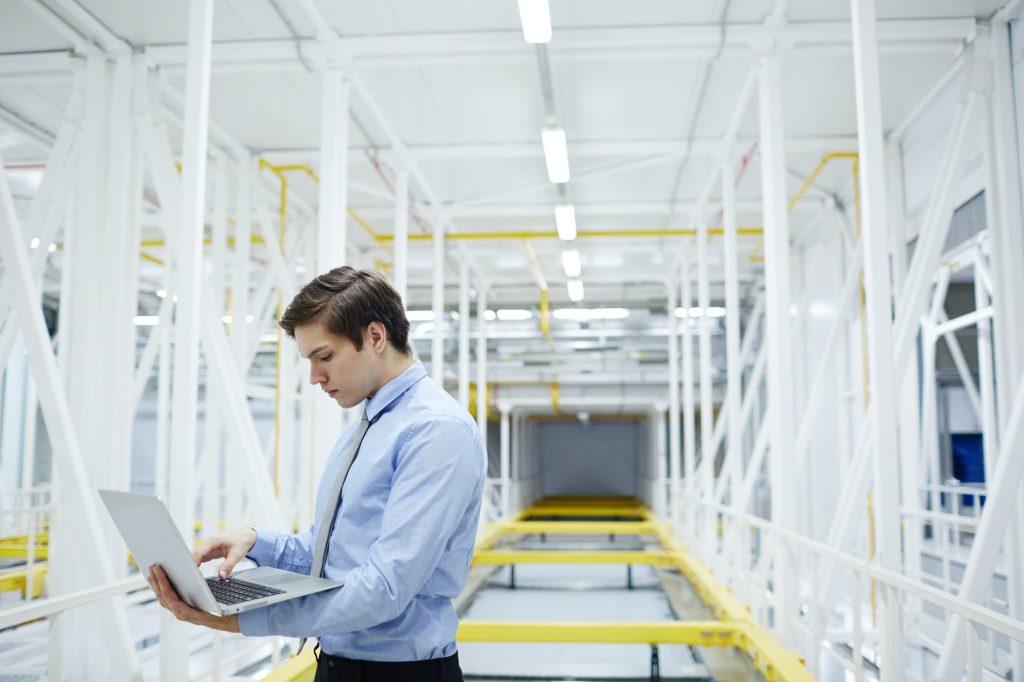 Working in data center