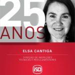 ISQ    A Elsa ingressou na Divisão de Eletricidade do ISQ em 1995, sendo atualme...