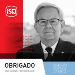 ISQ   António Correia da Cruz reforma-se depois de ter dedicado 33 anos da sua v...