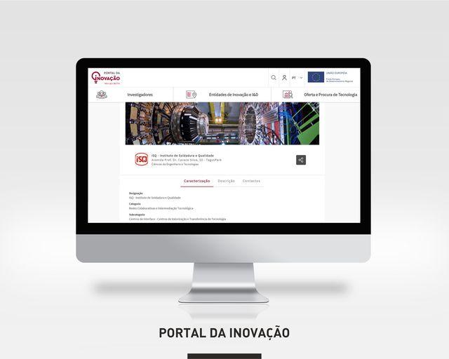 ISQ |   Encontre-nos no Portal de Inovação da Agência Nacional de Inovação. Faze…