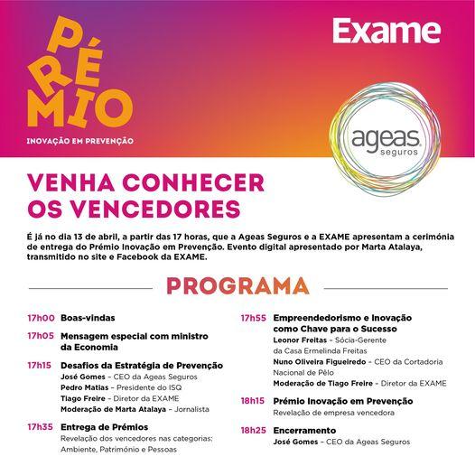 ISQ   Junte-se a nós, à Exame Portugal à Ageas Seguros e à Ordem dos Engenheiros…