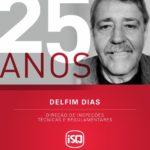 ISQ    O Delfim chegou ao ISQ - Delegação Norte - em 1994. Ao longo destes 25 an...