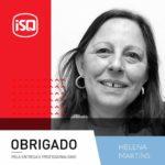 ISQ   Porque as empresas são as Pessoas, hoje homenageamos a Helena Martins que ...