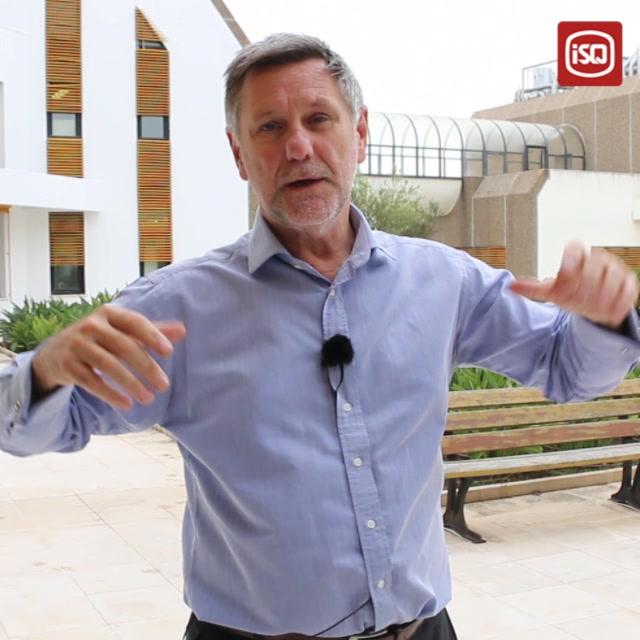 ISQ | O professor Steve Evans, da University of Cambridge, deixou-nos o seu test…
