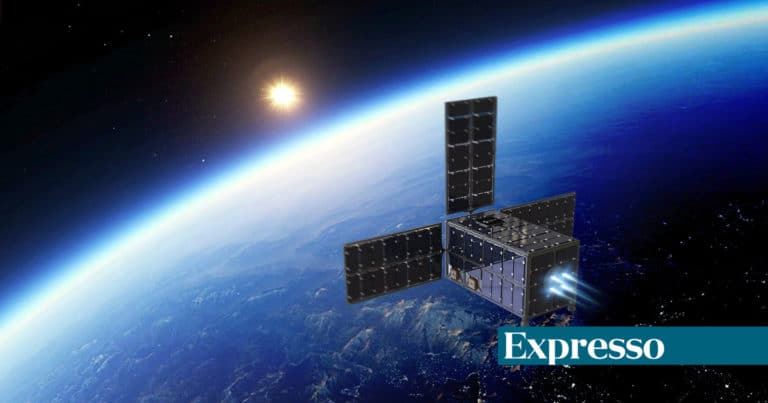 Primeiro satélite fabricado em Portugal faz testes em laboratório